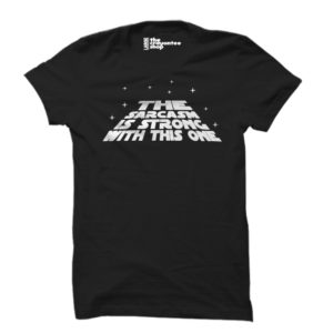 The sarcasm is strong black the crayontee shop